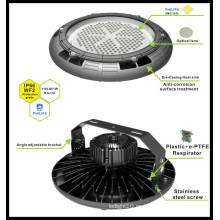 130lm / W luz redonda LED industrial 180W UL listó alta luz de la bahía con envío gratis