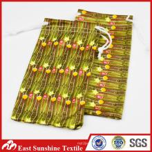 Drawstring Microfiber Necklace Bag