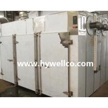 Rebanadas de ternera Circulación de aire caliente Horno de secado