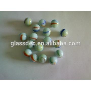 16mm 25mm 35mm fábrica de China mármoles de vidrio para el juguete