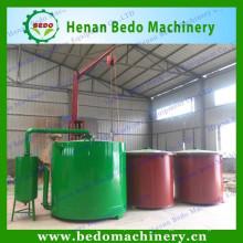 Haut fourneau de carbonisation de biomasse sans fumée de haut taux de carbonisation / poêle de charbon de bois à vendre