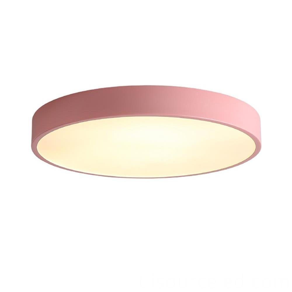acrylic modern led ceiling lights 24w 2700K
