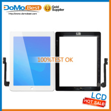 Discount!!! pour iPad 4 tactile complet tactile + Homebutton + adhésif