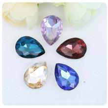 Water Drop Drill Transparent Glass Rhinestones Flatback  Rhinestone Sew On Clothes Nail Diamond Rhinestones
