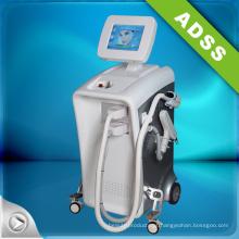 Sistema de tratamento de pele quente IPL