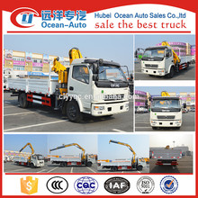 The newest DFAC 8 tons truck crane with low price