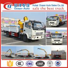 O mais novo DFAC 8 toneladas caminhão guindaste com preço baixo