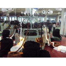 Поддельная меха Жаккардовая компьютеризированная круговая машина для вязания