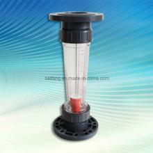 Rotâmetro de tubo de plástico