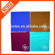 Unique customized colorful cotton brand head tie