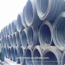 Tige à fil en acier à faible teneur en carbone à chaud pour la construction