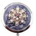 Crystal Lotus Compact Mirrors