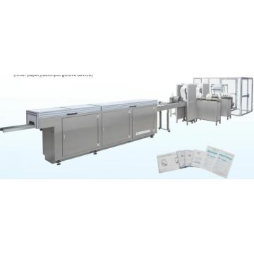Перчатки латексные автоматическая упаковочная машина