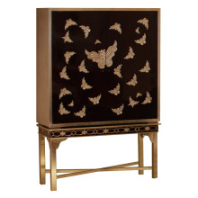 Butterfly Design Cabinet Hotel Furniture