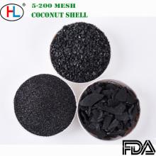 Carbono ativado granulado de Shell do coco da malha 8X30 para o tratamento da água