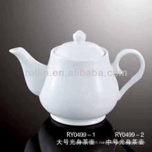Cuisinière à thé en vrac durable en porcelaine
