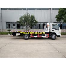 JAC 6 Ton Two Cars Tow Trucks