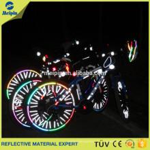 Réflecteurs de rayons de vélo / autocollant réfléchissant de bicyclette