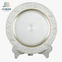 Пользовательские ремесло Гравирует Логос 18см металлическая Сувенирная тарелка для подарка Промотирования