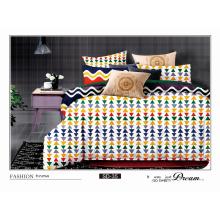Vogue Geometrc impresión, 120GSM Microfiber conjunto de ropa de cama