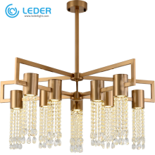 LEDER Beaded Circular Chandelier Lighting