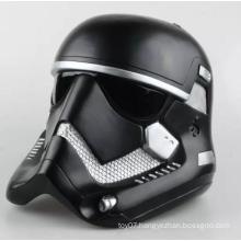 Black 1/6 Scale Down Helmet Customized Plastic Hat Doll Toys