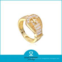 Joyería de oro de moda personalizada anillo de plata (sh-r0041)