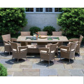 Hot Style Modern Rattan Furniture Cenas al aire libre