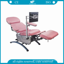 AG-XD104 height adjustable blood donor chair electrical equipment hospital used