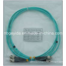3.0 St-St Om3 Duplex Fiber Optic Patch Cord