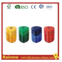 Plastiksicherheit Einloch Bleistiftspitzer