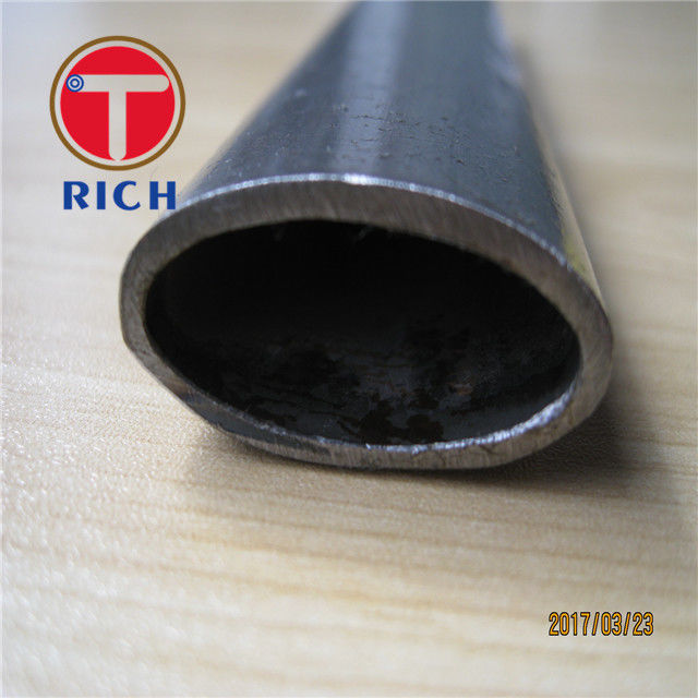 Pl18585286 Non Alloy Oval Special Steel Pipe Custom Flat Sided Cold Rolled Steel Tube