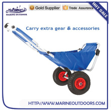 Folding Fishing Cart, Aluminum Fishing Cart, Outdoor Trolley Cart