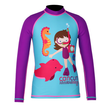Seaskin Long Arms Toddler Rash Guard