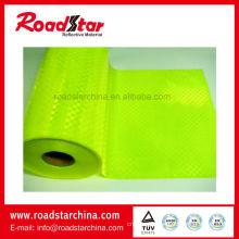 Glitter prismatic PVC rolls for sam browne belt