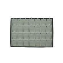 China Wholesale 28 Slot Jewelry Leather Pendant Tray (TY-28P-WBL)