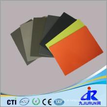 Folha plástica do PE high-density colorido para a indústria