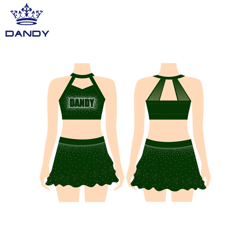 sparkle cheer shorts