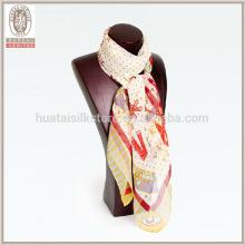 Cute cartoon rabbit silk Georgette scarf