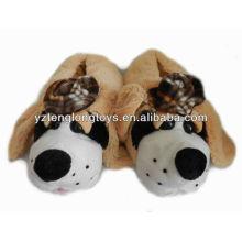 Deslizador de interior de la felpa del diseño encantador en diseño del perro