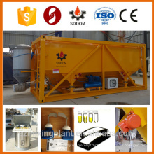 Container type 25 tons horizontal cement silo