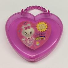 Пластиковая коробка в форме сердца для переноски