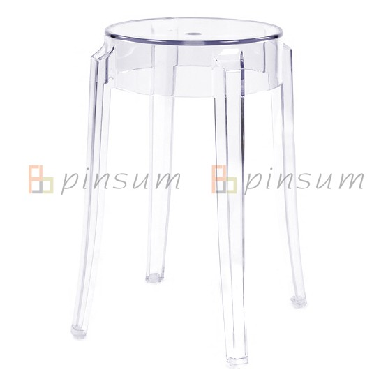 PC Ghost Bar Stool-Small