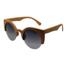 Gafas de sol de madera de moda de la vendimia (sz5688-2)