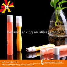 8ml amber PET plastic roll on bottle