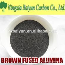 Óxido de alumínio fundido Brown de 60 mesh para polir e roda abrasiva