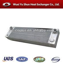 Radiador de la motocicleta de la aleta de la placa de aluminio