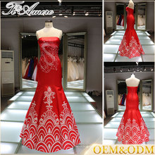 Alibaba China manufacture fashion custom made Bridal wedding dress