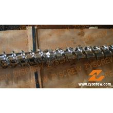Barril de tornillo simple para cilindro de tornillo de maquinaria de caucho