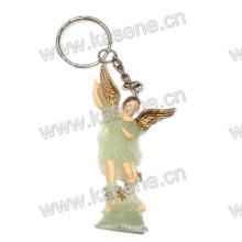 Neue Art- und Weisereligiöses leuchtendes Keychain, Heilige religiöse Statue